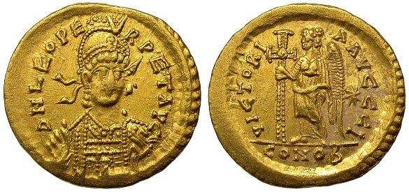 Древняя цены на монету: 1 solidus византийская империя (330-.