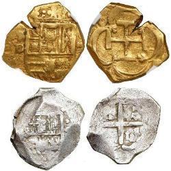 spanish cob coin identification