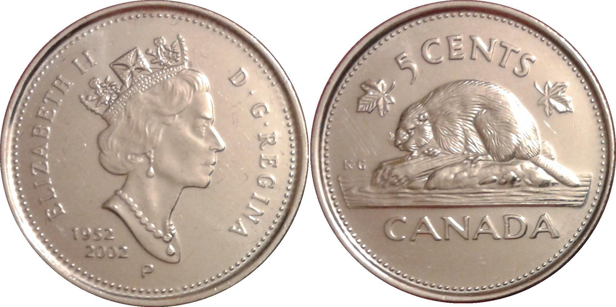 2003 Canada Old Effigy 10 Cents BU