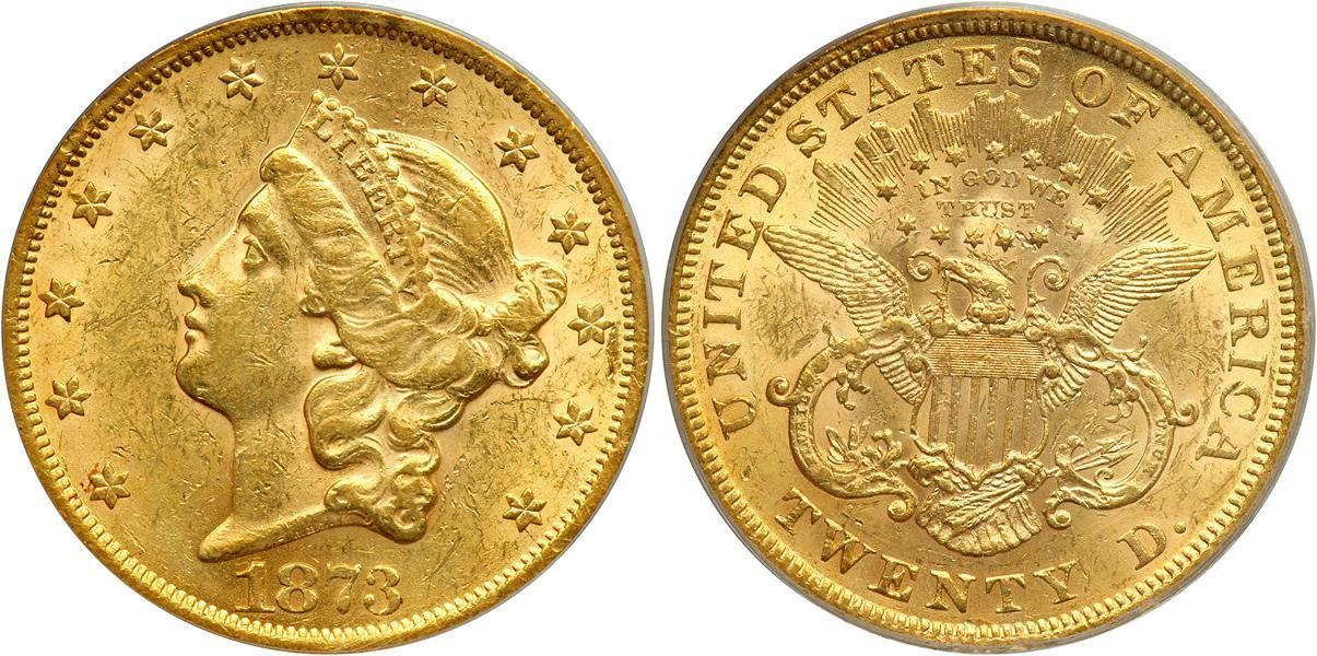 20 Dollar Usa 1776 Gold
