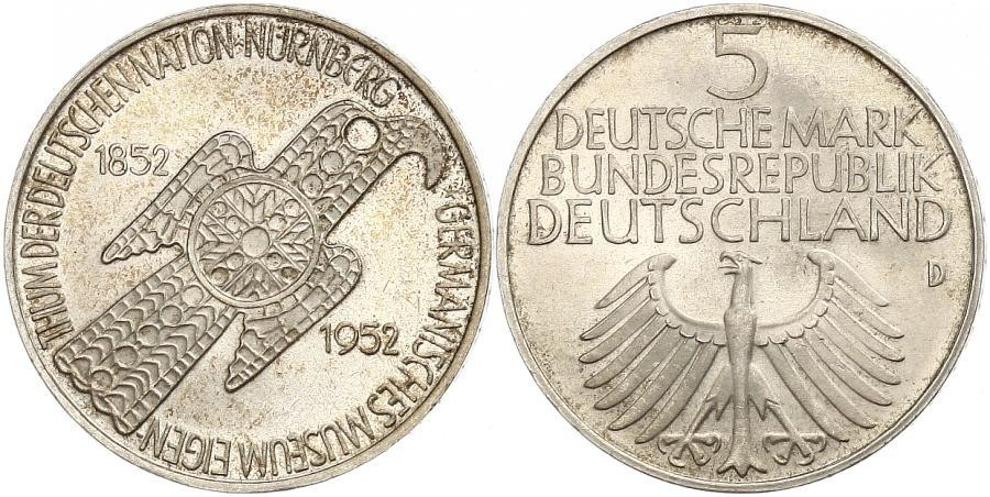 5 Mark West Germany 1949 1990