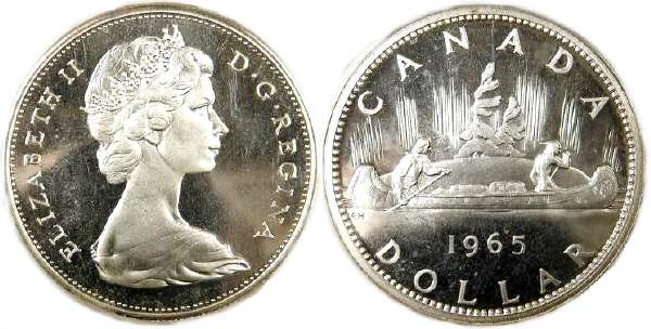 Canada 1976 Proof Like Voyageur Nickel Dollar!!