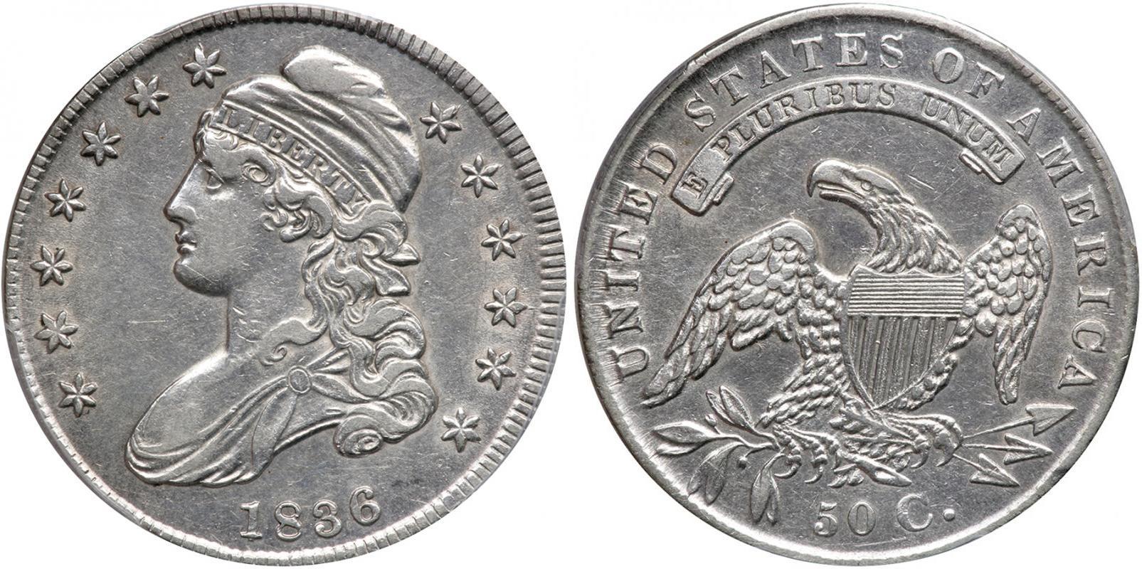 Münze 50 Cent Vereinigten Staaten Von Amerika 1776 Silber 1807