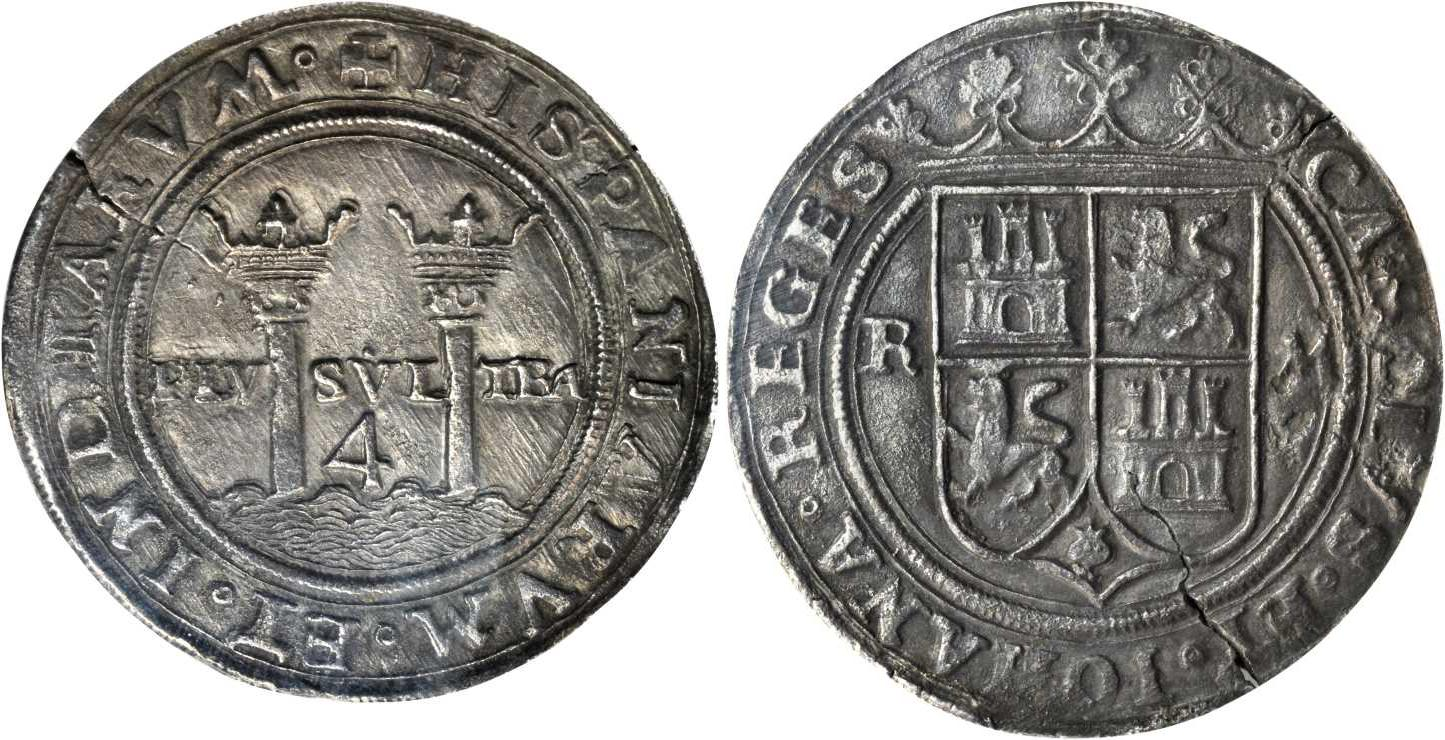 a6936cee74dc 4 Real Spanish Mexico   Kingdom of New Spain (1519 - 1821) Silver Charles