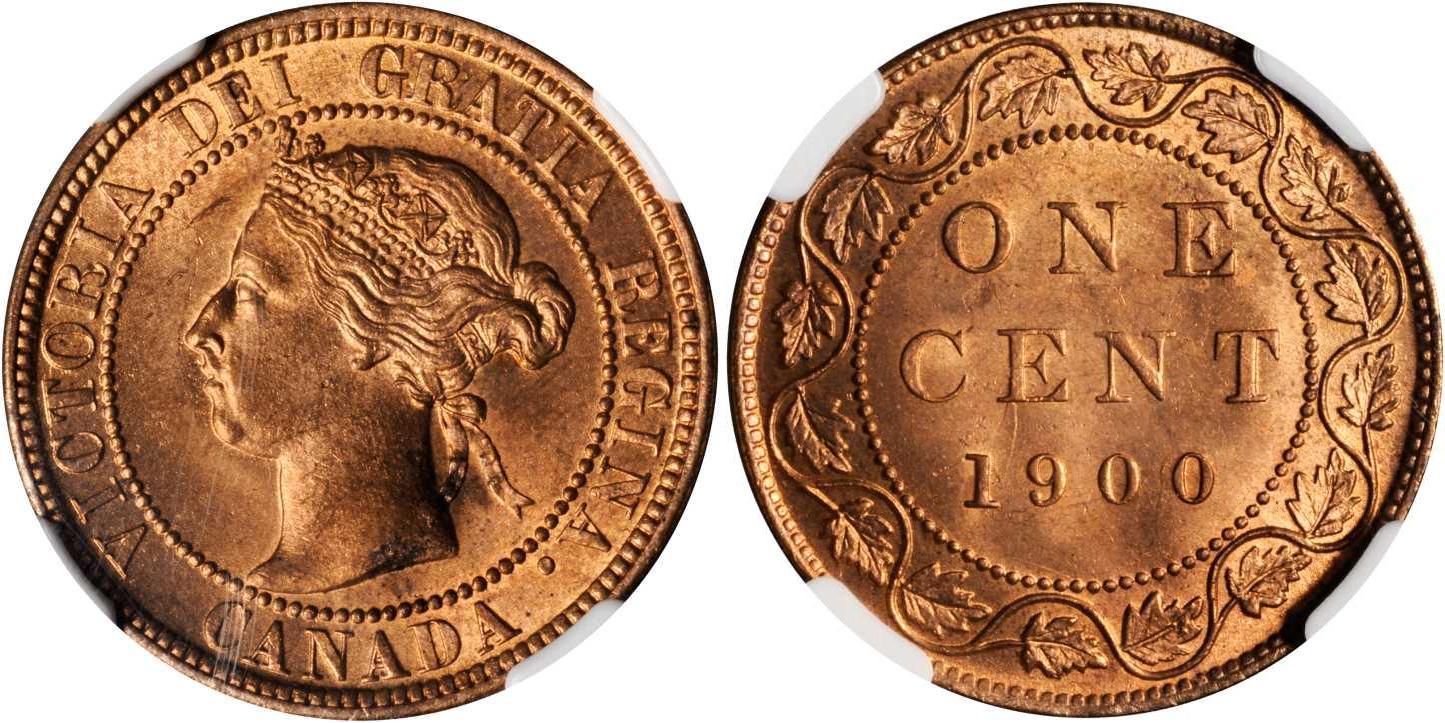 1 Cent 1897 Canada Bronze Victoria (1819 - 1901) | Prices