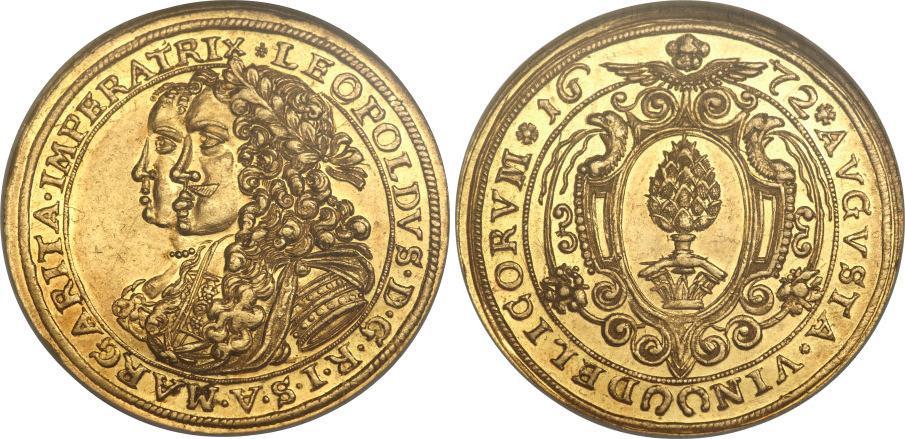 m nze 2 ducat augsburg 1276 1803 gold 1672 leopold i hrr 1640 1705 preis fr 70 km 89. Black Bedroom Furniture Sets. Home Design Ideas