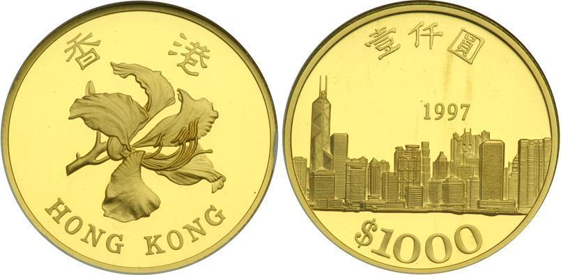 1000 Dollar Hong Kong Gold