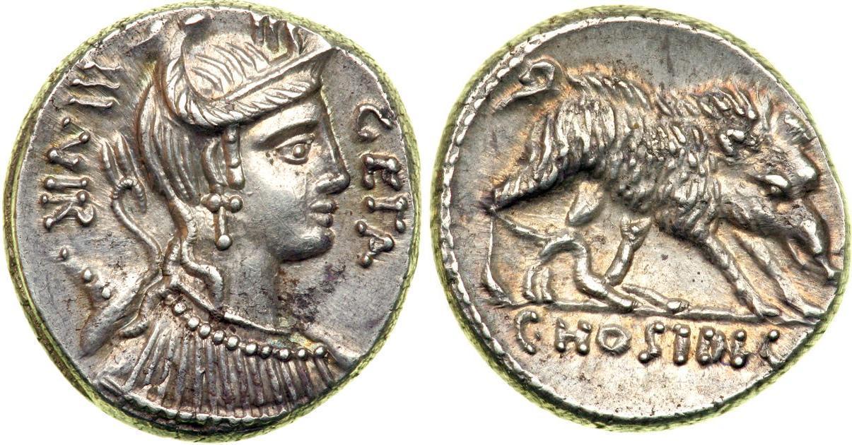 Roman Republic Coinage Index