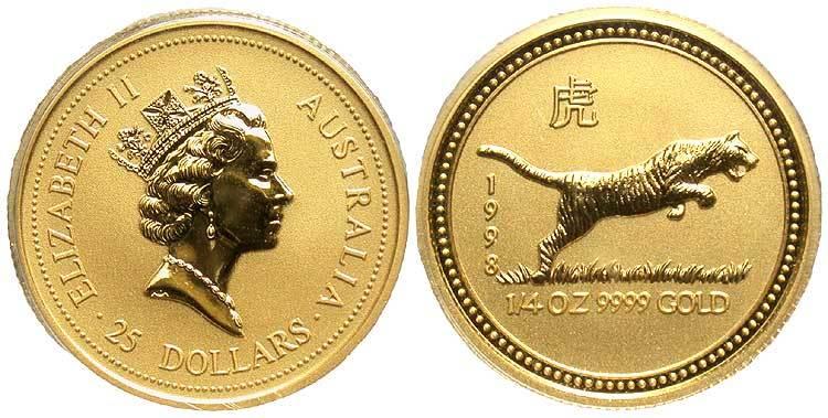 25 Dollar 1998 Australia 1939