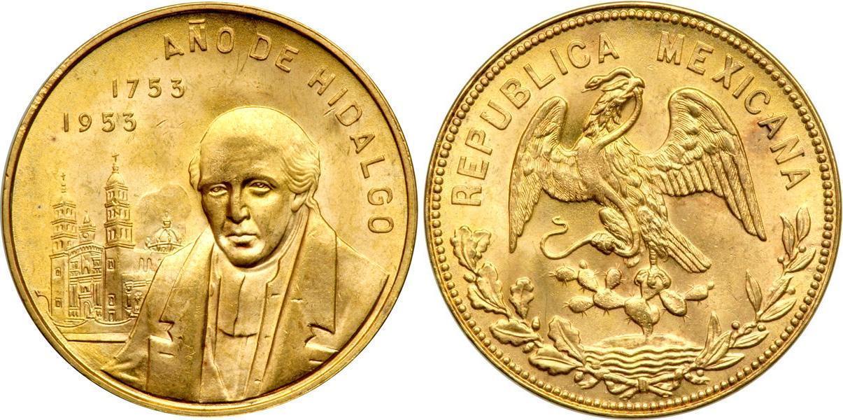 Monedas De Oro De Mexico May 2019