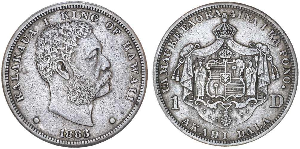 Moneda 1 Dólar Estados Unidos De