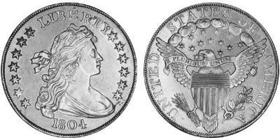 Доллар Драпированный Бюст 1804