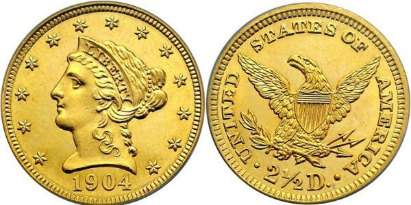 Liberty Head Gold Quarter Eagle